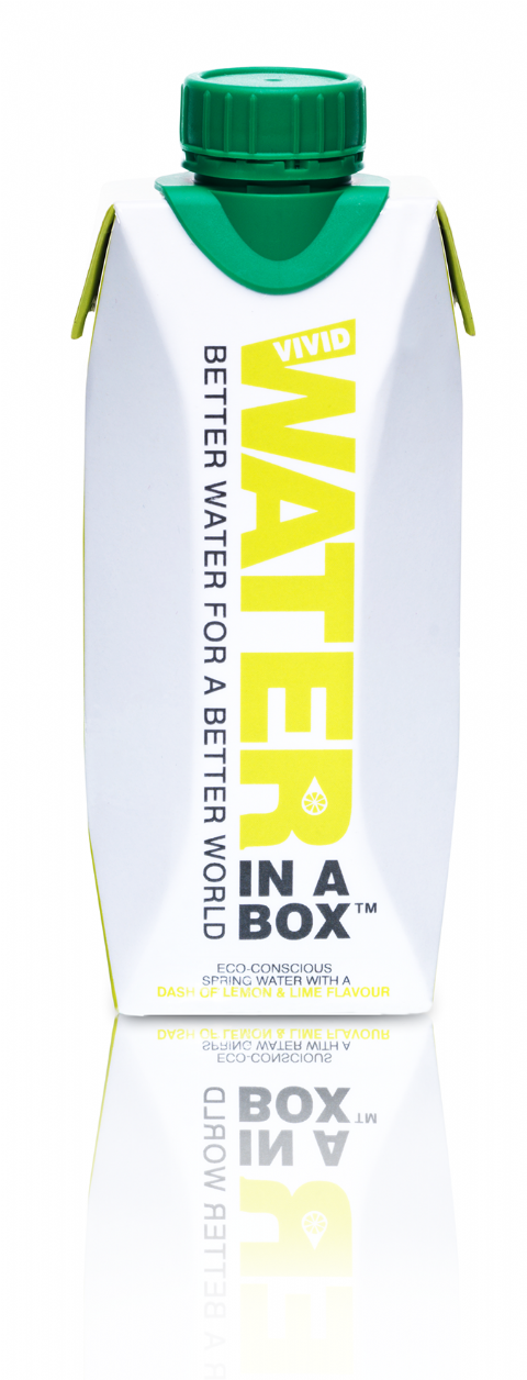 Water in a Box Lemon & Lime 330ml x 12